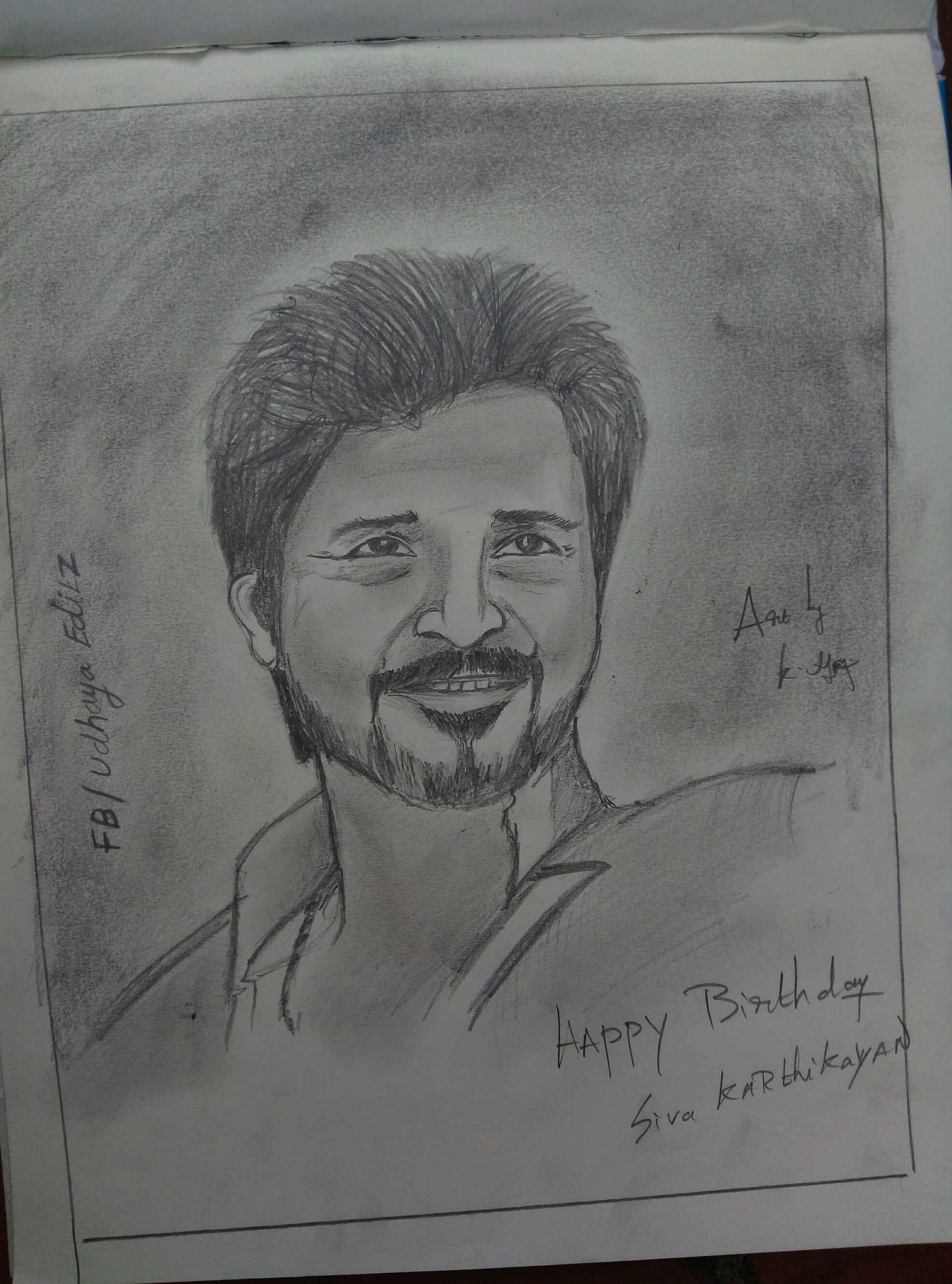 pencil drawings for birthday ; 15kVmbu