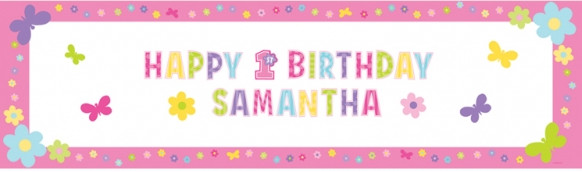 personalised birthday banners with photos ; First-Birthday-Girl-Personalised-Giant-Sign-Banner-extra-big-1020-879