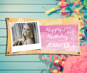 personalised photo birthday banners ; bday_generic_copy