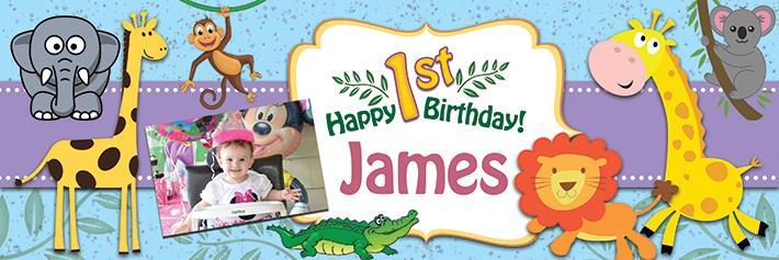 personalised photo birthday banners uk ; BB07-um-Preview-1