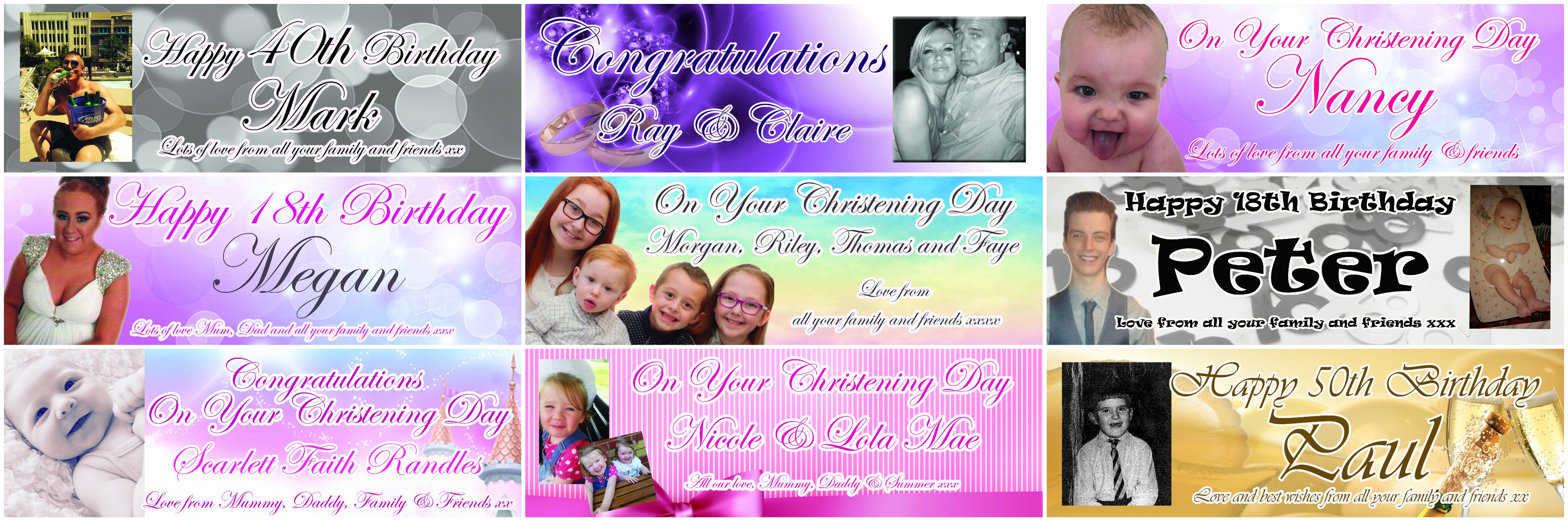 personalised photo birthday banners uk ; banner-collage-4