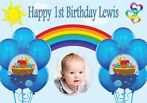 personalised photo birthday banners uk ; s-l300