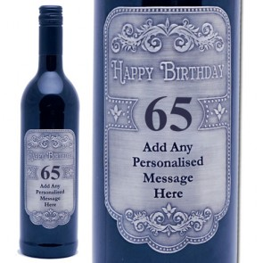 personalised wine labels for birthday ; prod_2474_2901