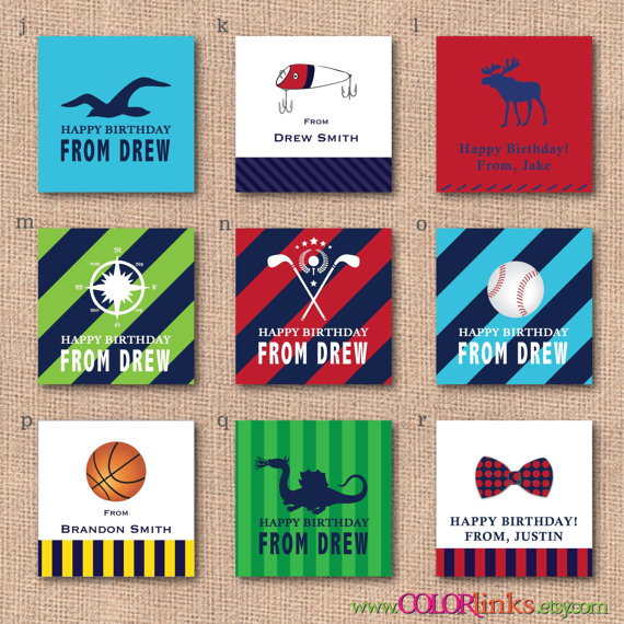personalized birthday gift labels ; 8743e18b802aedecd287d71c826323ec