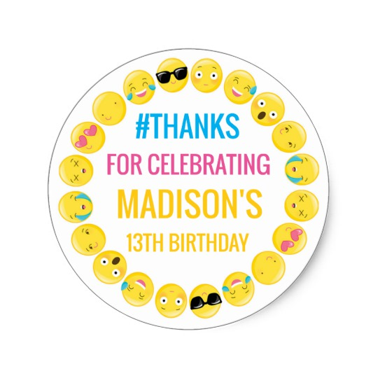 personalized birthday labels ; emoji_personalized_stickers_birthday_favor_labels-rb7dfd1eb5bd24b769c2795d60f8da89f_v9waf_8byvr_540