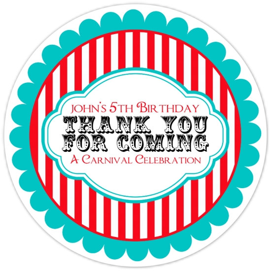 personalized birthday labels ; il_570xN