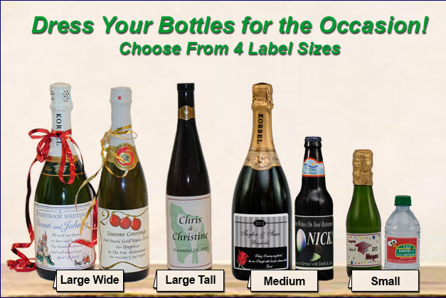 personalized bottle labels birthday ; personalized-bottle-labels-custom-champagne-bottle-labels