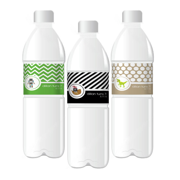 personalized bottle labels birthday ; personalized-mod-kids-birthday-water-bottle-labels_KPEB2350MDKZ