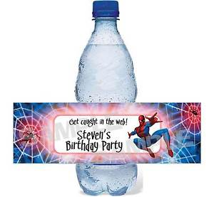 personalized bottle labels birthday ; s-l300