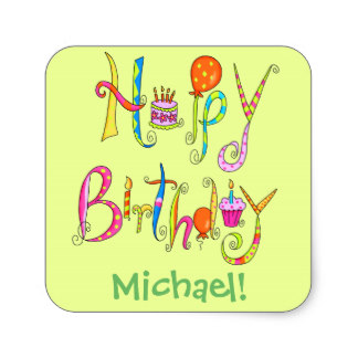 personalized happy birthday labels ; happy_birthday_word_art_green_name_personalized_square_sticker-reccbace01b4347368cb7be3096f3ea67_v9wf3_8byvr_324