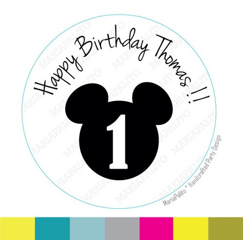 personalized happy birthday labels ; mickey_stickers_party_personalized_happy_birthday_name_and_age_printed_round_stickers_tags_labels_orelope_seals_a726_e4c3c01b
