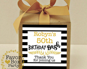 personalized labels for birthday favors ; il_340x270