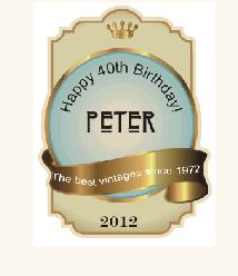personalized wine bottle labels for birthday ; wpb665047f_06