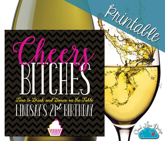 personalized wine labels 40th birthday ; 69210a9fcb58545c4969e311a4d3aff4
