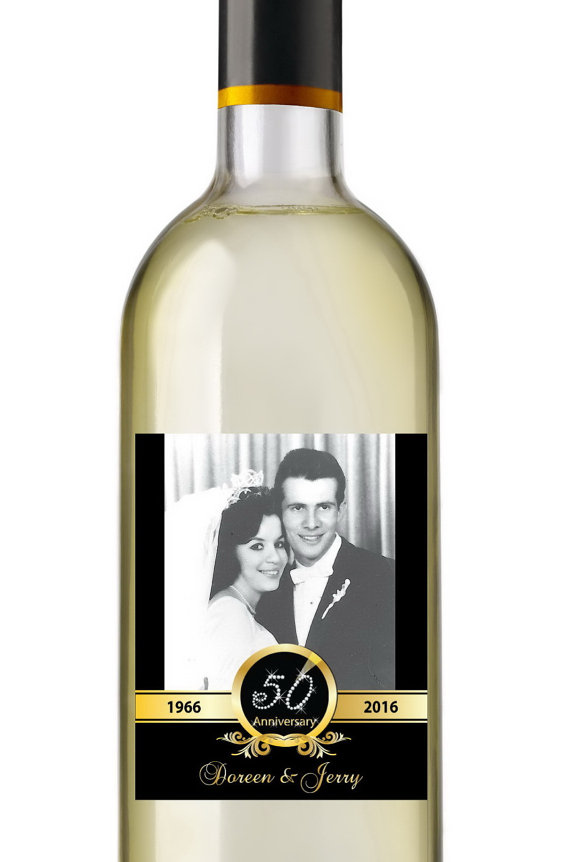personalized wine labels 40th birthday ; il_570xN