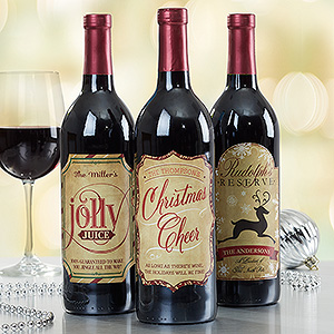 personalized wine labels for birthday ; 15118-34201
