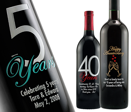 personalized wine labels for birthday ; 7