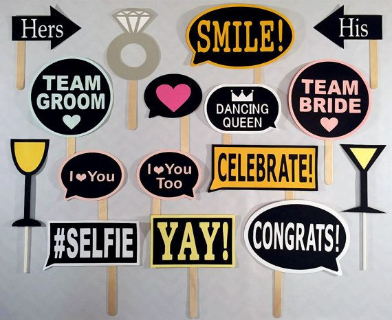 photo booth props signs birthday ; best-25-wedding-photo-props-ideas-on-pinterest-bridal-shower-wedding-photo-props