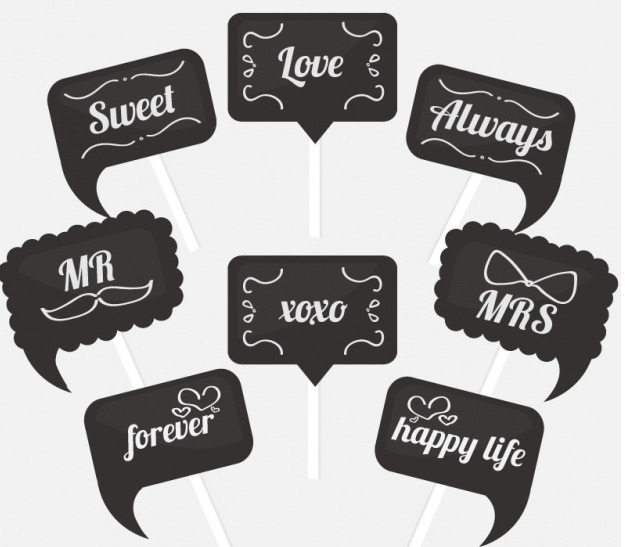 photo booth props signs free downloads birthday ; 002665-Great-photo-booth-signs-with-different-messages-Vector-_-Free-Download