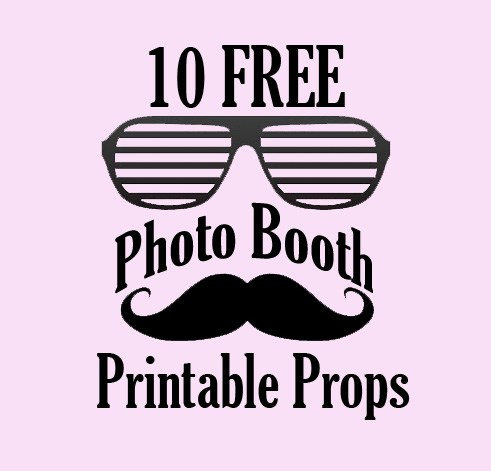 photo booth props signs free downloads birthday ; Photo-Booth-Props