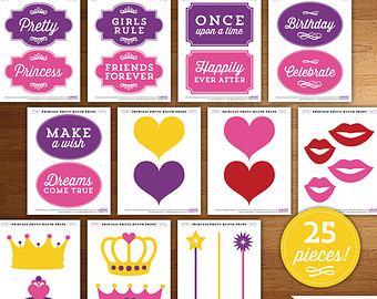 photo booth props signs free downloads birthday ; il_340x270