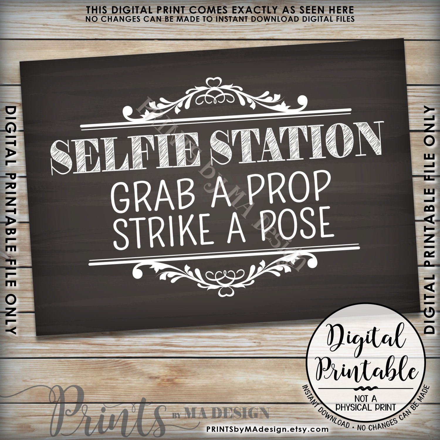 image about Selfie Station Sign Free Printable identified as Picture Booth Props Signs and symptoms No cost Downloads Birthday Easiest Satisfied