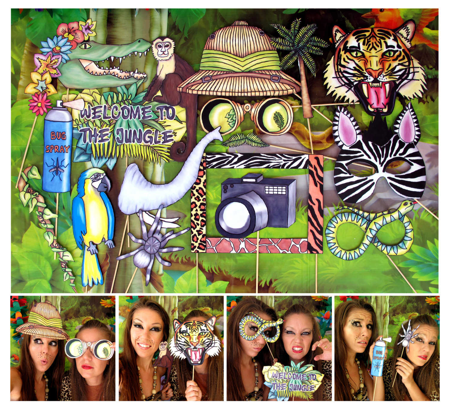 photo booth themed birthday party ; 7713aa7aa936565b58db4554a700ddf0