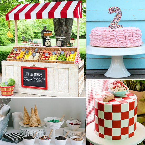 photo themed birthday party ; Food-Themed-Birthday-Parties