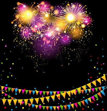 photoshop birthday background images ; colored_confetti_with_happy_birthday_background_vector_545060