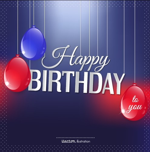 photoshop birthday background images ; creative_happy_birthday_background_with_balloon_vector_542819