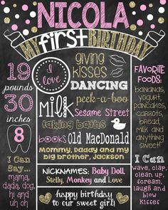 picture posters for birthday ; 73b237c14859f636b1ca9a27b4dd29d9--first-birthday-posters-first-birthday-chalkboard