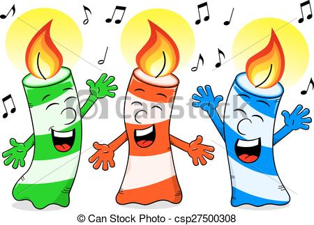 pictures of birthday candles clipart ; cartoon-birthday-candles-singing-a-vector-clipart_csp27500308