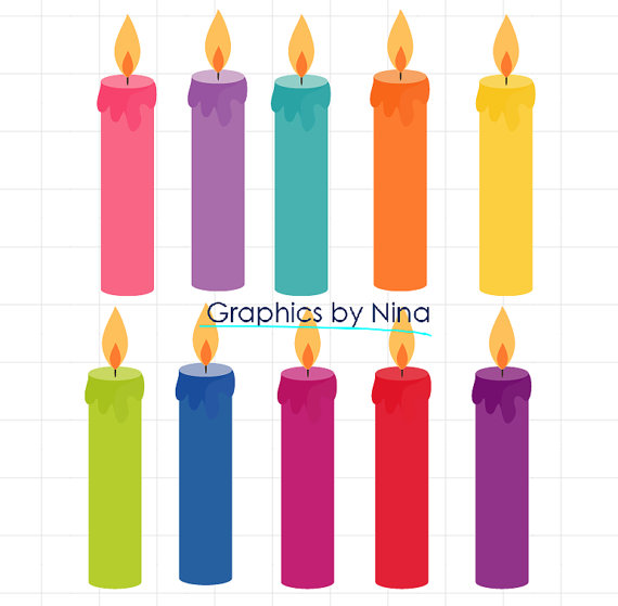 pictures of birthday candles clipart ; il_570xN