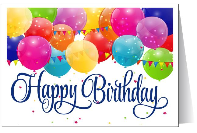 pictures of birthday cards ; happy-birthday-greeting-card-deep-blue-text-color-and-balloons-ornaments-image-creation-simple-surprise-pictures-of-birthday-cards