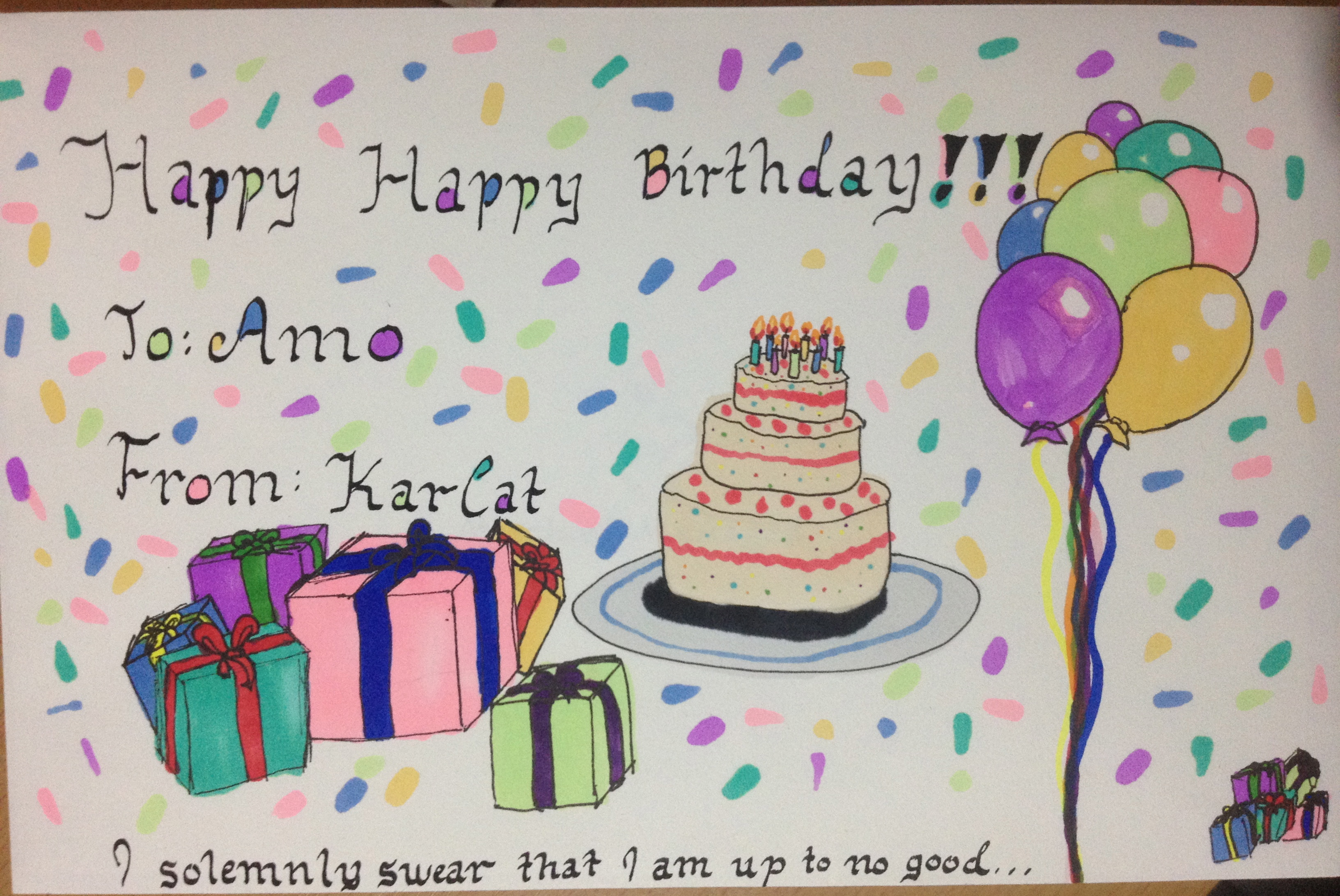 pictures to draw on birthday cards ; birthday-card-envelope