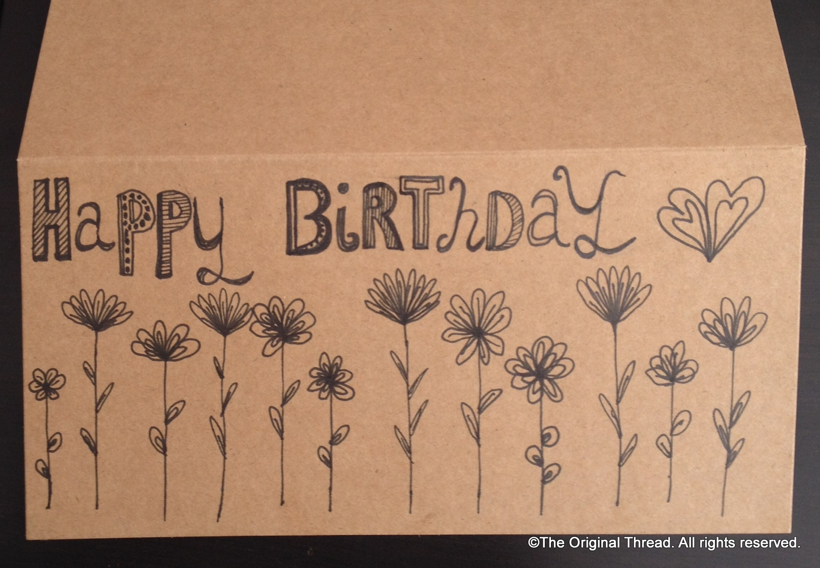 pictures to draw on birthday cards ; birthday-card