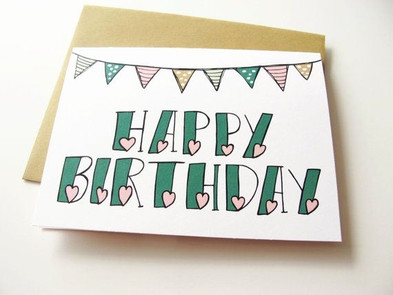 pictures to draw on birthday cards ; good-things-to-draw-on-a-birthday-card-awesome-best-25-cute-birthday-cards-ideas-on-pinterest-of-good-things-to-draw-on-a-birthday-card