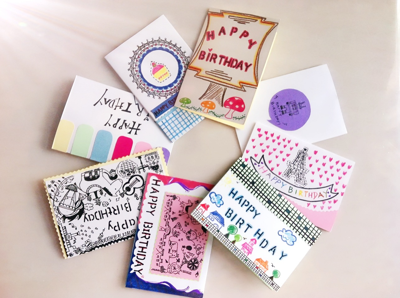pictures to draw on birthday cards ; photo-52