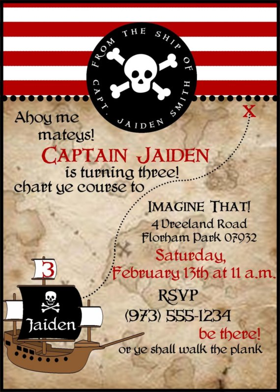 pirate themed birthday party invitation ideas ; 2bd6d0065af85eefd29f16b3256f0c5b