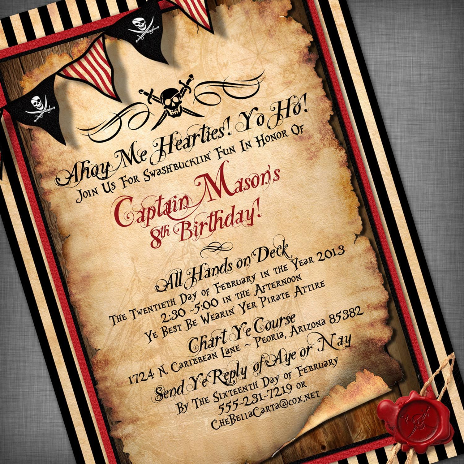 pirate themed birthday party invitation ideas ; 7c5be21fd8ef9720c8f8262ecb5c4a73