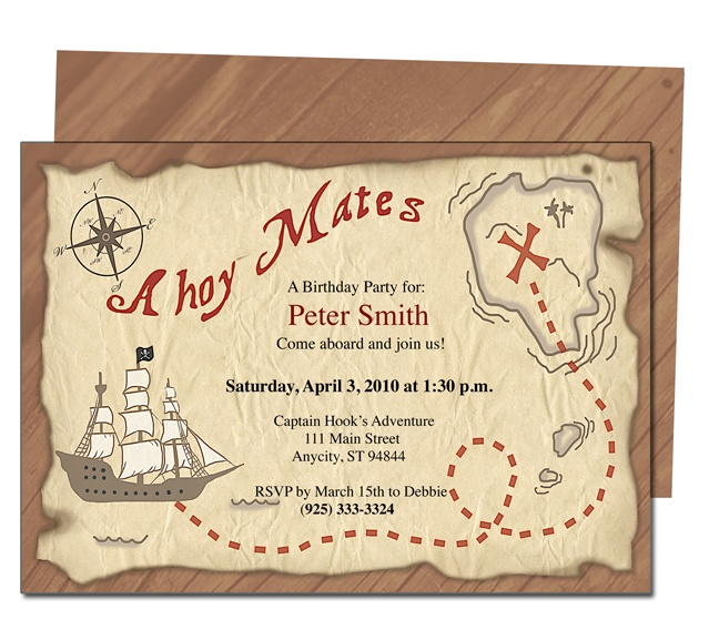 pirate themed birthday party invitation ideas ; pirate-party-invitation-templates-23-best-kids-birthday-party-invitation-templates-images-on-ideas