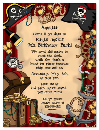 pirate themed birthday party invitation ideas ; pirate-themed-birthday-party-invitations-best-25-pirate-birthday-invitations-ideas-on-pinterest-pirate-printable