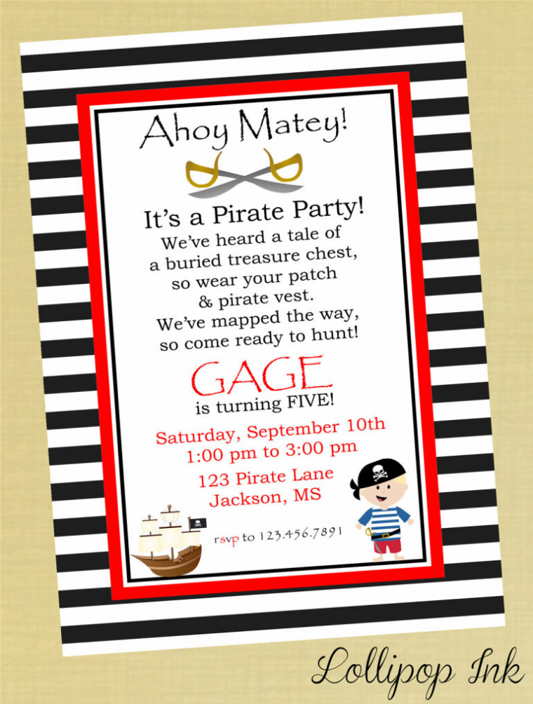 pirate themed birthday party invitation wording ; pirate-birthday-invitation-wording-ajordanscart-pirate-themed-birthday-invitations
