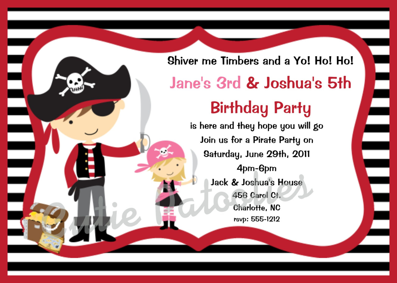 pirate themed birthday party invitation wording ; pirate-party-invitation-wording-template-gaut5nfq