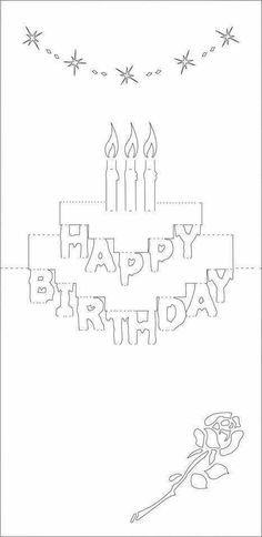 pop up birthday card template printable ; f4340a1196e5afc5999094ad41cd2f43