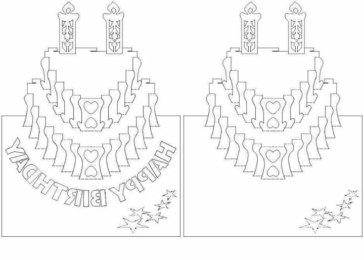 pop up birthday card template printable ; pop-up-wedding-card-template-free-awesome-703-best-kirigami-images-on-pinterest-artists-books-and-drawings-of-pop-up-wedding-card-template-free