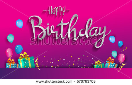 poster birthday card ; stock-vector-happy-birthday-typography-vector-design-for-greeting-cards-and-poster-with-balloon-confetti-and-570763708