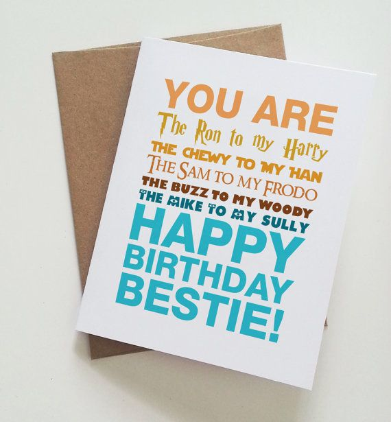 poster birthday card ideas ; greeting-cards-for-best-friend-birthday-25-unique-best-friend-birthday-cards-ideas-on-pinterest-best-best