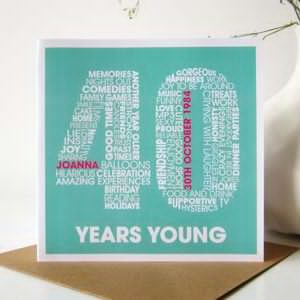 poster board birthday card ; personalised-40th-birthday-card-40th-birthday-card-ideas-poster-board-candy-bars-and-a-little-creativity-make-a-fun-birthday-card-for-anybody