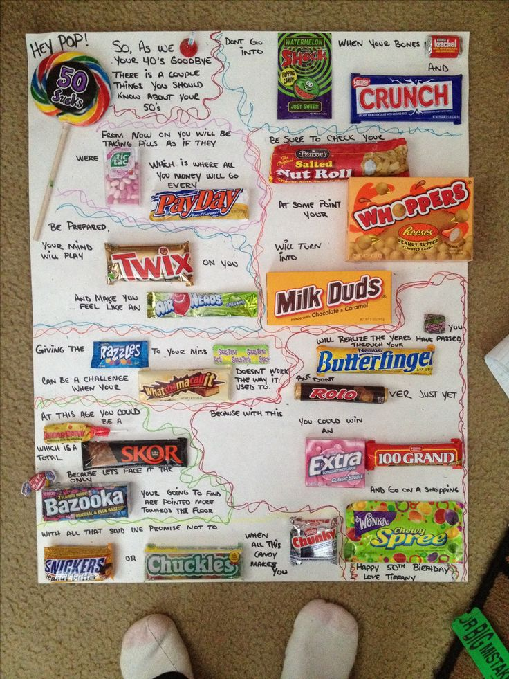 poster board birthday card ideas ; candy-cards-25-best-candy-birthday-cards-ideas-on-pinterest-candy-cards-1